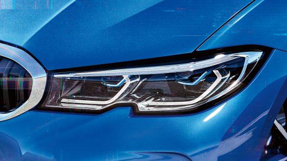 BMW 3er Limousine Laserlicht