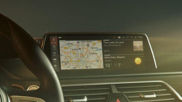 BMW 7er Limousine Operating System