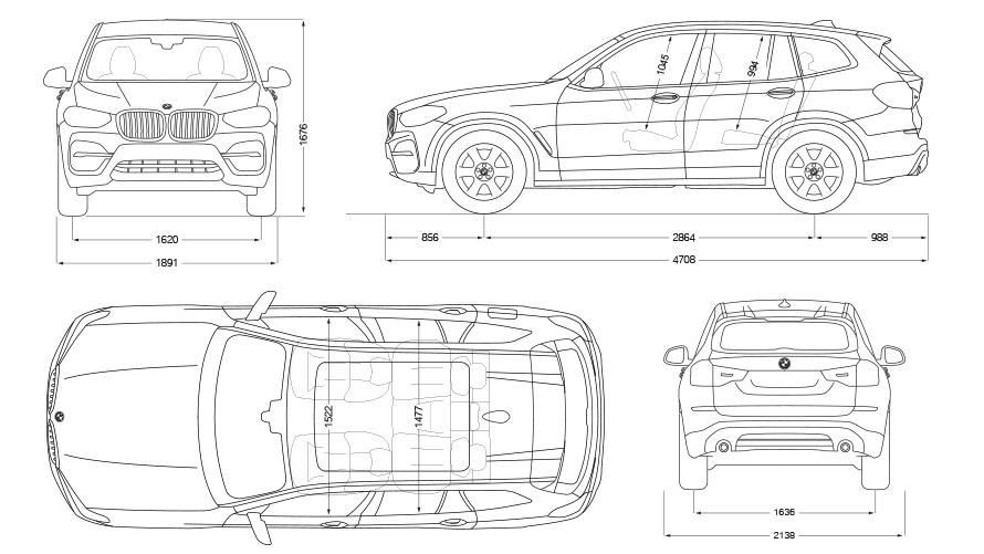 Technische Daten BMW X3