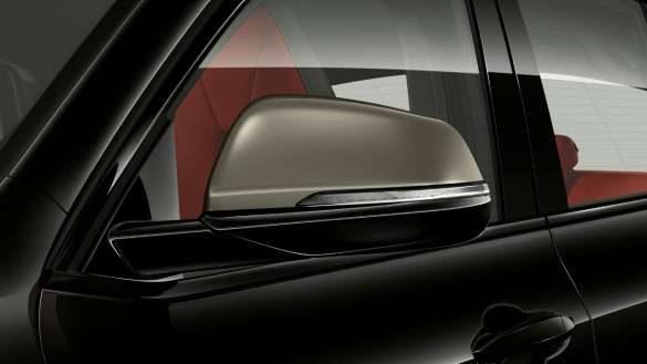 BMW X2 M35i Spiegelkappen in Ceriumgrau