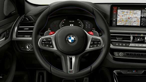 BMW X4 M Competition F98 LCI Facelift 2021 M Servotronic Cockpit