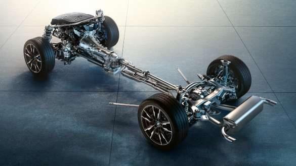 BMW 4er Gran Coupé Fahrwerk