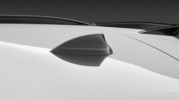 BMW X4 G02 M Performance Antennenabdeckung Aramid 2021