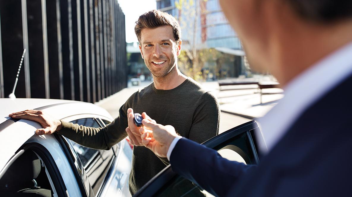 BMW Autoabholung Gebrauchtwagen