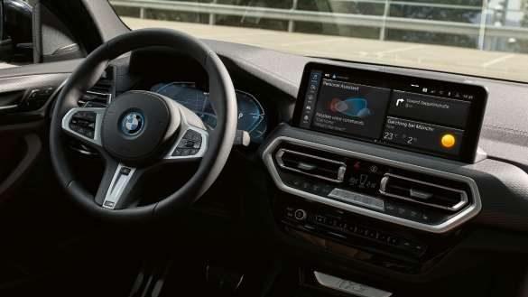 Cockpit BMW iX3 G08 2021